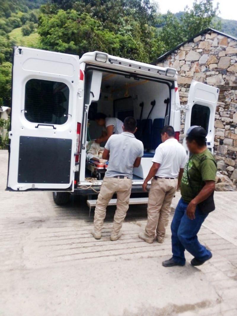 Ayuntamiento de Huazalingo apoya con traslados a hospitales